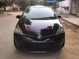"""TOYOTA VITZ 2015 ON EASY EMI WITH ONLY 20% D.P """"ONE STEP SOLUTION"""""""
