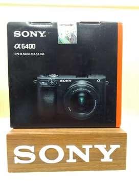 New Mirorles sony a6400 lensa 16-50mm bisa Kredit gratis 1x angsuran