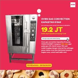 Oven gas convection spesialis untuk usaha kue kering premium Jayapura