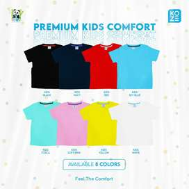 Baju kaos premium koze anak umur 2-11 tahun