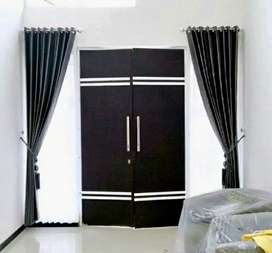Curtain Gorden Korden Gordyn Wallpaper Blind Desain Baru>217L