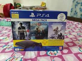 PS4 with 11months warranty left and games included