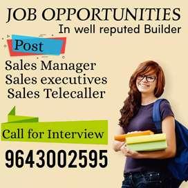 JOB OPPORTUNITIES In real estate