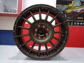 Velg Mobil Jazz Livina Ring 17 HSR Wheel ARROW H4X10-114,3 Semi Bronze