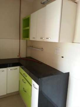 2bhk semi furnished flat available in near waghbil