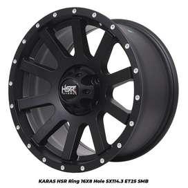 Velg Mobil HSR Murah Ring 16 Grandmax Gand Vitara SX4 Xover