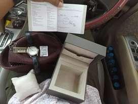 Jual jam tangan   original dan asli model bulat besar dan kaca cembung