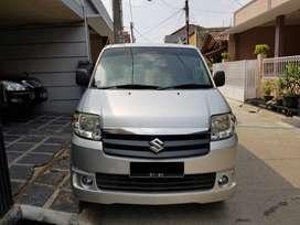 Suzuki APV GL 2013 M/T Silver Bekasi Mulus Ada Bonus