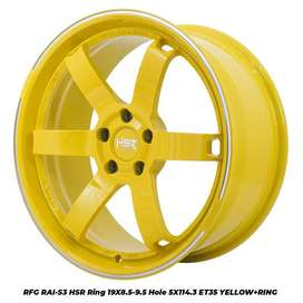 RFG RAI-S3 HSR R19X8595 H5X114,3 ET3225 YELLOW (CB1,8)