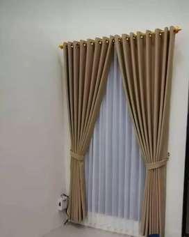 Keindahan Curtain Gorden gordyn desain tirai elegan minimalis elegan