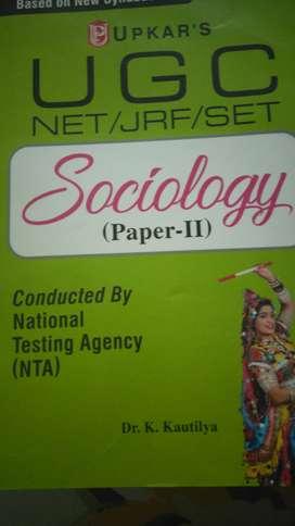 Best unused books for UGC NET sociology