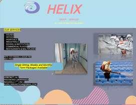 Helix sanitisation works