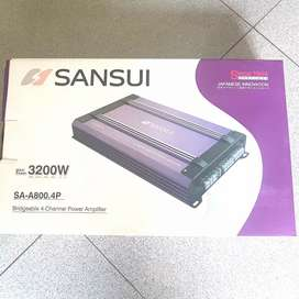 power 4 channel Sansui (ready stock)