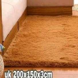 Karpet bulu tebal uk 150x200,oscar