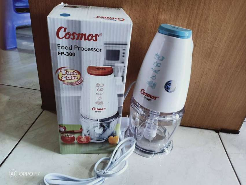 food processor cosmos blender mini FP300 blender daging serbaguna 0
