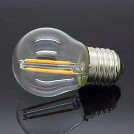 Lampu Filamen Led Edison Cafe 2w / 4 watt Filamen Lampu Hias G45