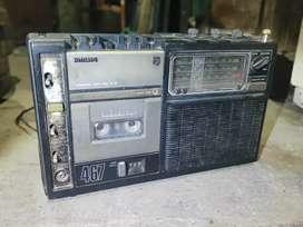 Radio Philips duble tape 467