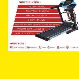 jual toko treadmill elektrik ireborn osaka MG-21 alat fitnes
