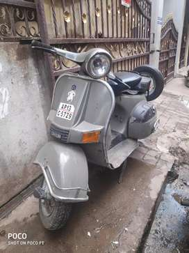 Antique Bajaj Chetak Scooter
