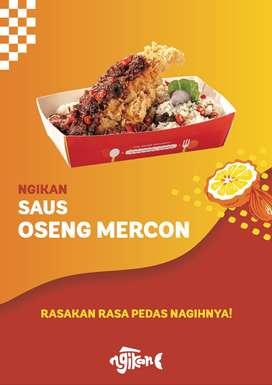 Dicari Cooker/Team Dapur untuk Resto Ngikan - Cempaka Putih - Jak Pus