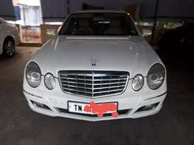 Mercedes E280D white VIP used  Benz For sale