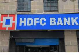 Urgent requirements for HDFC bank