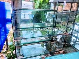 aquarium kaca 100x40x40