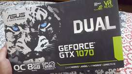 Asus Gtx 1070 Dual OC Brand new Condition