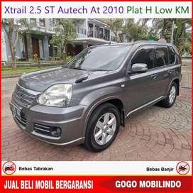 Xtrail 2.5 ST Autech AT 2010 Plat H Low KM Bisa Kredit