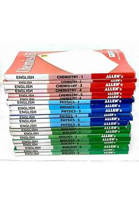 Allen material of class 11 and 12 for Neet UG