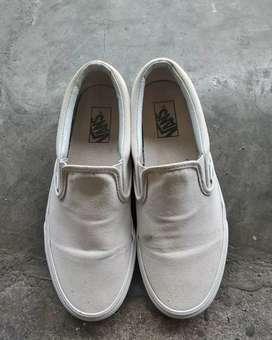 Vans slip on Full white ORI 100% BNIB