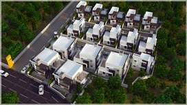 2BHK Comfortable Villas from 19.5 lakhs