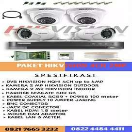 KAMERA CCTV HIKVISION 4 CHANNEL 2 MEGAPIXEL