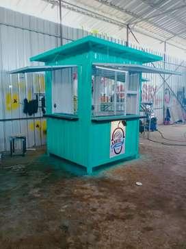 gerobak box container costum