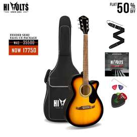 Electric Acoustic Fender F135CE At 50% OFF