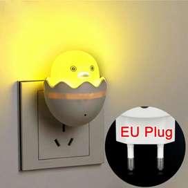 Lampu Tidur Telur Sensor Cahaya