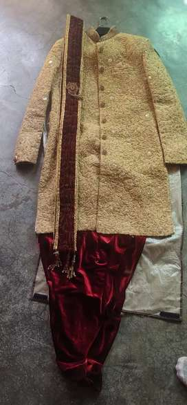 Indowestern, only one time used, Good condition