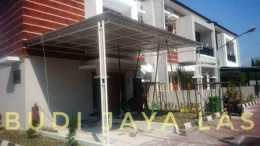 Kanopi Galvanis untuk Teras dan carport rumah 0