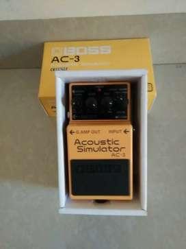 Boss ac3, accoustic simulator