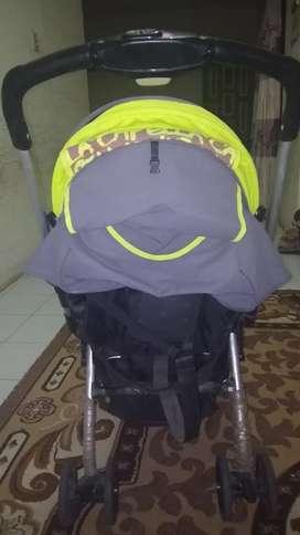 Baby stroller merk capella