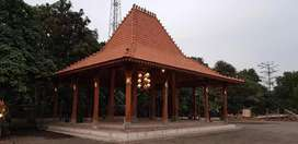 Pendapa Kayu Jati dan Rumah Joglo Dinding Gebyok Ukiran Jepara