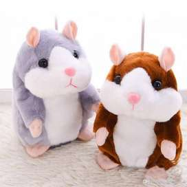 PROMO - Talking Hamster Plush Toy Original (Boneka Bisa Bicara), Best