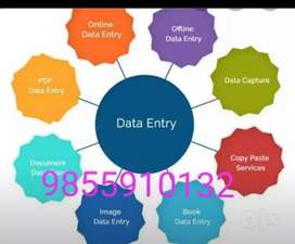 Part time job data entry work