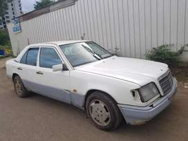 Benz w 124 engine and auto gearbox mag wheels bumpers lights etc