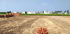61 gaj plot  , Rate:3200 rupees per gaj plot for sale  .