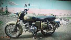 Sale of Royal Enfield Classic Desert Storm, single hand used