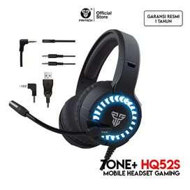 Fantech TONE HQ52s Headset Gaming Mobile FREE SPLITTER