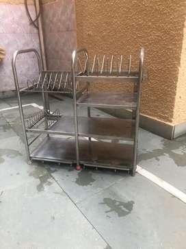 kitchen rack for utensils