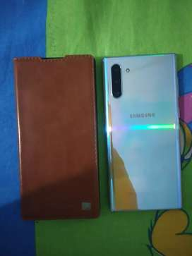 Jmma new aa 256gb NOTE 10  Aura glue colour 1 Year gouranty pending