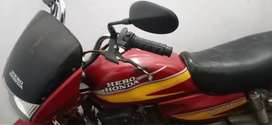 Red colour, kick start, Price negotiable